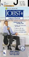 Jobst Supportwear Men's Extra Large Knee-High Black Dress Socks