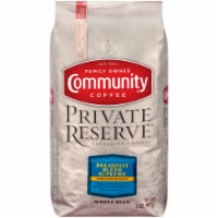 Community Coffee Private Reserve Breakfast Blend Supreme Medium-Dark Roast Whole Bean Coffee