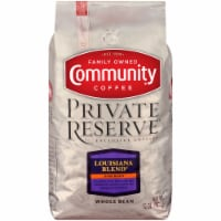Community Coffee Private Reserve Louisiana Blend Dark Roast Whole Bean Coffee