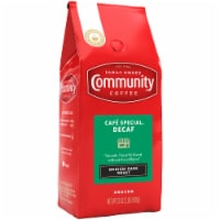 Community Coffee Cafe Special Decaf Medium-Dark Roast Ground Coffee