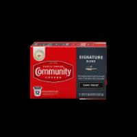 Community Coffee Signature Blend Dark Roast Single-Serve Cups