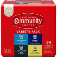 Community Coffee Single Serve Cups 54 Count