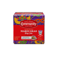 Community Mardi Gras King Cake Single-Serve Cups