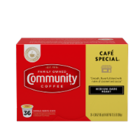 Community Coffee Cafe Special Single-Serve Cups