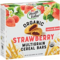Health Valley Organic Strawberry Cobbler Multigrain Cereal Bars 6 Count