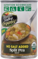 Health Valley Organic No Salt Added Split Pea Soup
