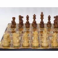 WorldWise 75617 Marrakesh Decoupage Chess Board - 1