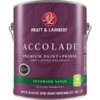 Pratt & Lambert Int Sat Bright Wht Paint 0000Z4780-16