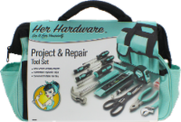 Her Hardware Project & Repair Tool Set - Teal