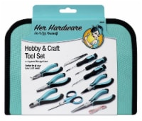 Her Hardware Hobby and Craft Tool Set 11 Pack