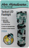 Her Hardware Tactical LED Flashlight - Camo