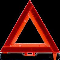 Allied Warning Triangle - Orange/Black