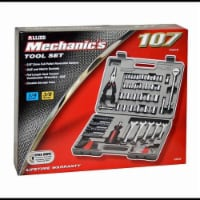 Allied Mechanic's 107-Piece Ratchet and Socket Wrench Tool Set