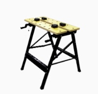 Allied Portable Work Station - Yellow/Black - 1 ct