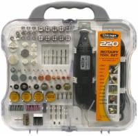 Chicago Power Tool 220 Piece Rotary Tool Set