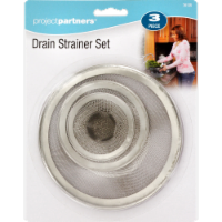 Project Partners Drain Strainer Set