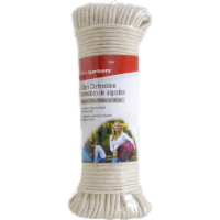 Project Partners Cotton Clothesline Rope - White