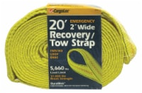 CargoLoc Recovery/Tow Strap - Yellow