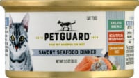 PetGuard Cat Savory Seafood Dinner Wet Cat Food