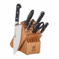 ZWILLING Pro 7-pc Knife Block Set - Bamboo - 7-pc