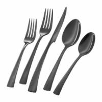 ZWILLING Bellasera Black 20-pc 18/10 Stainless Steel Flatware Set