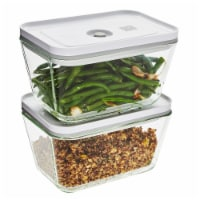 ZWILLING Fresh & Save 2-pc Glass Airtight Food Storage Container, Meal Prep Container - Large - 2-pc Glass Large