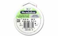 Beadalon Bead Wire 7Strand .012  Satin Silver 30' - 1