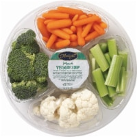 Small Vegetable Tray with Ranch Dip