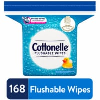 Cottonelle Flushable Wet Wipes Refill Pack