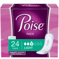 Poise Long Ultra Thin Incontinence Pads