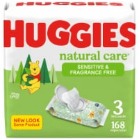 Huggies Natural Care Sensitive Unscented Baby Wipes