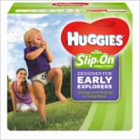 Huggies Little Movers Size 4 Slip-On Diaper Pants