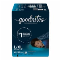 GoodNites L-XL Bedtime Underwear for Boys 34 Count