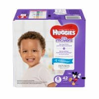 Huggies Little Movers Size 6 Diapers - 42 ct