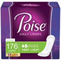 Poise Long Length Very Light Daily Liners