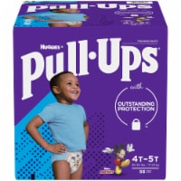 Pull-Ups Learning Designs Boys 4T-5T Training Pants 56 Count