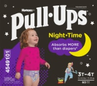 Pull-Ups 3T-4T Girls Night Time Training Pants 60 Count