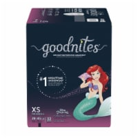 GoodNites Disney Princess Extra Small Nighttime Underwear 32 Count
