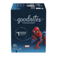 GoodNites Marvel Superhero Extra Small Nighttime Underwear 32 Count