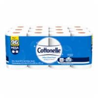 Cottonelle Ultra CleanCare Mega Toilet Paper Rolls