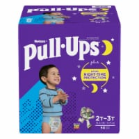 Pull-Ups Boys Night Time 2T-3T Training Pants 50 Count