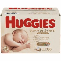 Huggies Nourish & Care Cocoa & Shea Butter 4-in-1 Sensitive Skin Baby Wipes