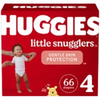 Huggies Little Snugglers Size 4 Baby Diapers 66 Count