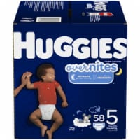 Huggies Overnites Nighttime Diapers Size 5