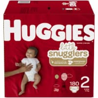 Huggies Little Snugglers Size 2 Baby Diapers 180 Count