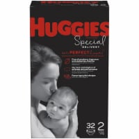 Huggies Special Delivery Size 2 Baby Diapers 32 Count