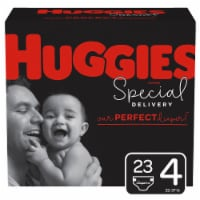 Huggies Special Delivery Size 4 Baby Diapers 23 Count