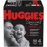 Huggies Special Delivery Size 4 Baby Diapers 50 Count