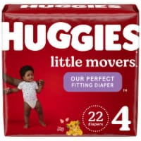 Huggies Little Movers Size 4 Baby Diapers