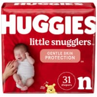 Huggies Little Snugglers Newborn Size Baby Diapers